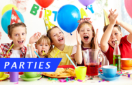 Parties for website